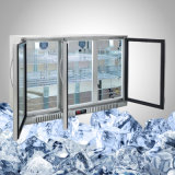 Réfrigérateur de barre d'acier inoxydable pour la bière d'Undercounter
