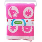 100% manta combinada encantadora tejida algodón del bebé del telar jacquar con calidad perfecta