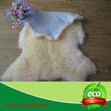 Coperta naturale reale della pelle di pecora della pelle di 100% intera