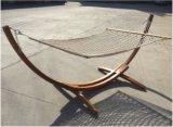 Hammock de madeira do frame resistente luxuoso