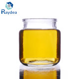 vaso di vetro rotondo del silice 100ml con la protezione dello stagno