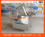 Máquina de fritura semiautomática para fatias do camarão