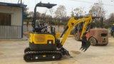 Las ventas calientes CT16-9b Mini excavadora con la cola Zero, retráctil Chasis