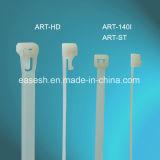 Serres-câble en nylon avec le Picot-Verrouillage de solides solubles