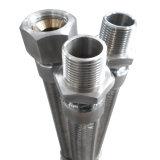 Junções rosqueadas do metal mangueira de alta pressão de alta temperatura