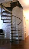 Las escaleras de caracol de madera, por encargo por Unique Escaleras espirales para Penthouse