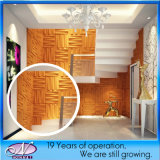 Конструкция 3D Background Board, Acoustic Sound Absorption Wall Decorative Material