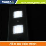 Luz de rua solar Integrated do sensor de movimento com 5 anos de garantia