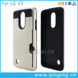 잡종 카드 구멍 LG Aristo/LV3/V3를 위한 내진성 전화 상자