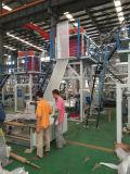 Máquina que sopla principal rotatoria de la película plástica de la presión inferior del HDPE del ABA
