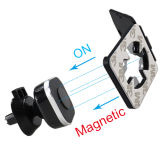 Qualitäts-quere magnetische Auto-Zubehör-konvexe Montierung mit Smartphone