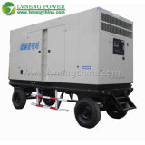 leiser mobiler Generator des Schlussteil-100kVA