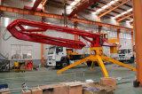 13m 15mのリモート・コントロールの17m別の4つの車輪のトレーラーの移動式具体的な置くブーム