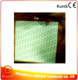 Chaufferette de silicones/couvre-tapis de chauffage/garniture flexibles 24V pour l'imprimante 3D, 200W 24V