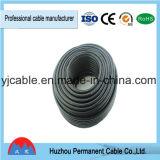 Câble coaxial de liaison du roulis Rg59 du prix usine CCS/CCA/Bc 200m