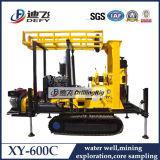 prix utilisé par Xy-600c monté par chenille de foreuse de puits d'eau de forage de 600m