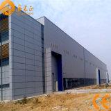Vorfabrizierte Stahlkonstruktion-Industrieanlage - schnelles Montieren (SS-374)
