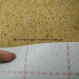 suelo del PVC del forro del fieltro de la anchura de los 3m a de los 3.7m