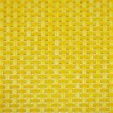4X4 matéria têxtil bicolor Placemat para o Tabletop