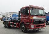 25 van Foton 6X4 van het Op zwaar werk berekende van de Haak ton Broodje van het Wapen van de Vrachtwagen van het Afval