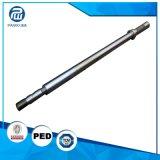 高精度の鋼鉄OEMは産業部品のためのシャフトを造った