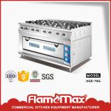 Kooktoestel van het Gas van de Apparatuur van de catering het Luxe met de Oven van het Gas