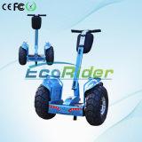Uno mismo que balancea la vespa eléctrica elegante con la vespa E8 de 2 ruedas grandes