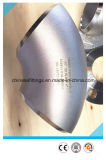 A403 Elleboog van de Stuiklas van het Roestvrij staal van de Montage van de Pijp van Wp316 de Naadloze