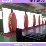 Tela de indicador Rental elevada magro interna do diodo emissor de luz da cor cheia da definição de HD P2.976 para anunciar (FCC de RoHS do CE)