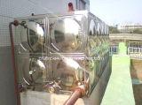 Réservoirs d'eau sanitaires de soudure sectionnelle de panneau d'acier inoxydable