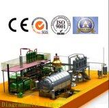 연료유에게 의학 폐기물 증류법 기계를 얻기