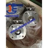 API/DIN het drijven van de Pneumatische Kogelklep van het Roestvrij staal van het Wafeltje