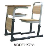 2014 nuevo Design Single School Desk y Chair Kz43
