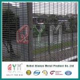 Cercado revestido del acoplamiento de la prisión de la cerca de seguridad de /PVC de la cerca anti de la subida 358