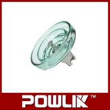 Linha de alta tensão tipo isolador de vidro da névoa (LXHP-70)