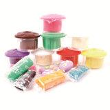 argila de modelagem colorida dos brinquedos da massa de pão do jogo 3D para miúdos
