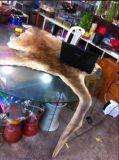 Tapis s'arrêtant de kangourou de couverture australienne véritable de peau