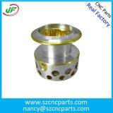 Peça de alumínio feita à máquina torno do CNC do OEM, peças fazendo à máquina do CNC, peças de alumínio de giro do CNC