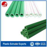 PPR Glasfaser-Rohr-Strangpresßling-Zeile mit Farbe Masterbatch Messen