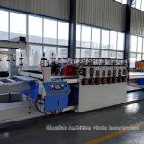 Plastik-Belüftung-Schaumgummi-Vorstand-Strangpresßling-Maschine für Gebäude-Schablone