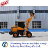 1.5 Tonne Mini Vorderseite Wheel Loader mit Attachments