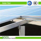 Largura de parafuso de terra galvanizado com flange para sistema de montagem solar