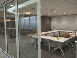 Mur en verre mobile pour le bureau