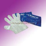 Устранимые хирургические медицинские перчатки PE (MW212)