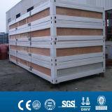 site Container Flat Pack de Sandwich Modular de la CE de 20ft