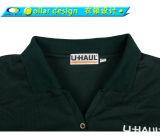 Buttonless 100%년 폴리에스테 가득 차있는 긴 소매 Dri 적당한 폴로 셔츠
