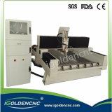 3D CNC 돌 조각품 CNC 대패 기계 (IGS-1325)