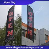 Фабрика изготовленный на заказ рекламируя флага пляжа, флага индикации, флага стойки, флага пера