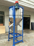 Mezclador plástico grande del color de Verticle de los gránulos con el secador