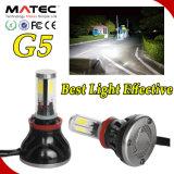 Der Leistungs-G5 Scheinwerfer H4 Einsparung-der Energie-80W 8000lm des Auto-LED
